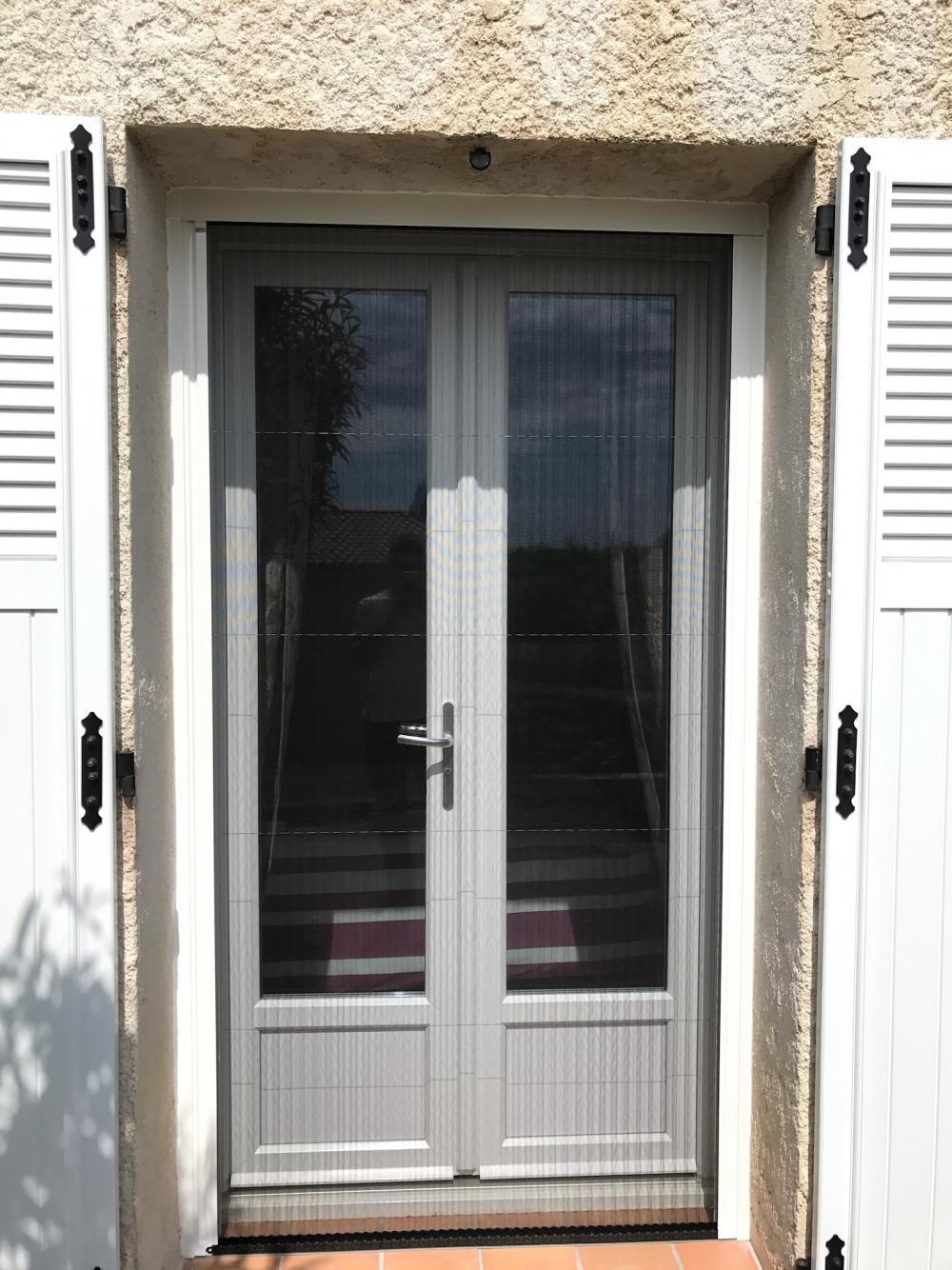 Porte Fenêtre Pvc Blanc Asymétrique Vda Gap